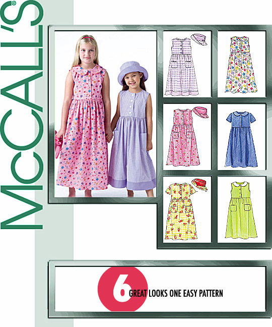 McCall's Children's/girl's Dresses 4432