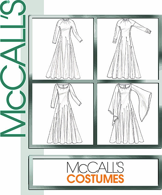 McCall's Medieval Costumes 4490