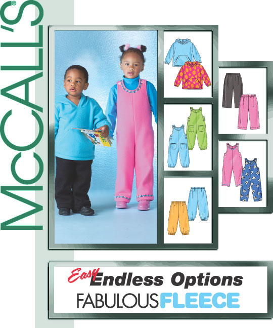 McCall's Child's top, jumpsuit, pants 4644