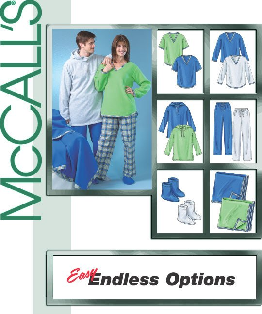 McCall's Fleece top 4675