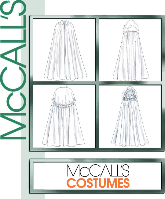 McCall's Misses' Capes 4698
