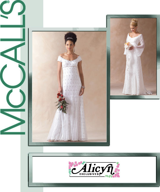 McCall's Wedding gown 4714