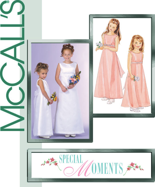 McCall's Girls Formal Dress 4763