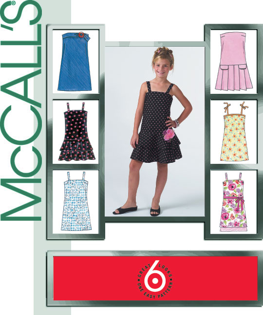 McCall's Girl's Dress 4767