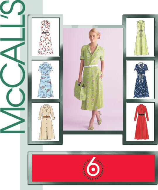 McCall's Shirt Dress 4769