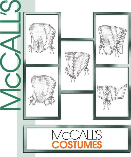 McCall's Misses' Corsets 4861