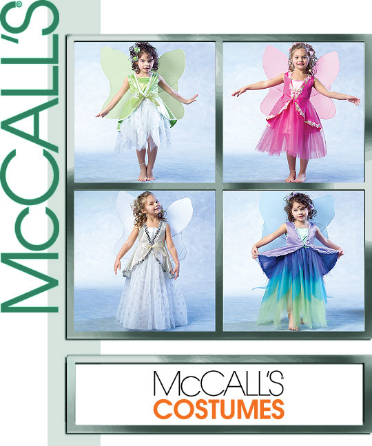 McCall's Chidren's Fairy Costumes 4887