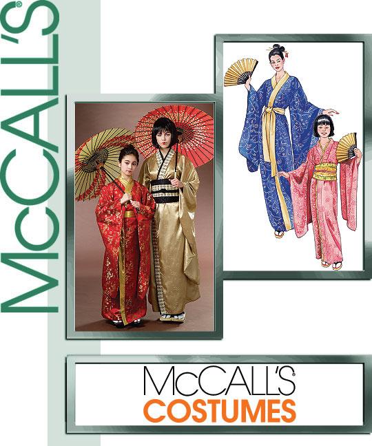 McCall's Misses/Girls Kimono 4953