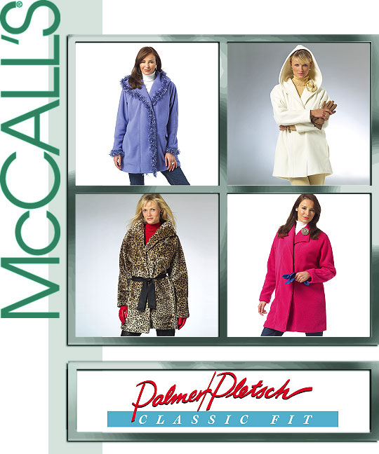 McCall's Easy Fleece & Fur Jackets 4975