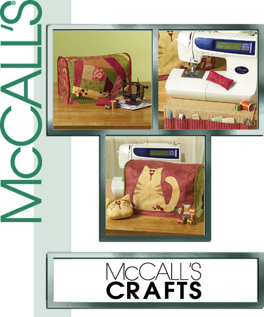 McCall's Sewing Machine Cover 5017