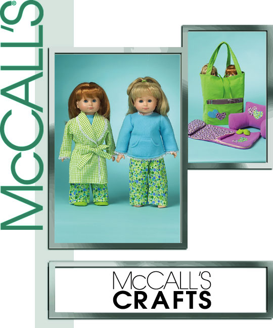 McCall's 18 inch doll pajamas 5019
