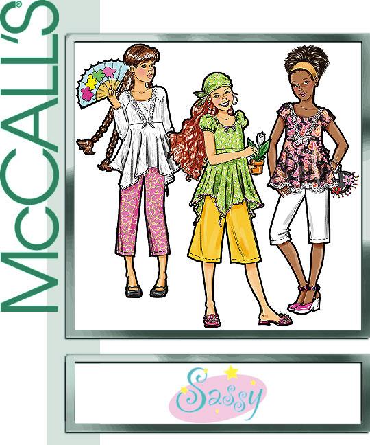 McCall's Sassy Girl 5135