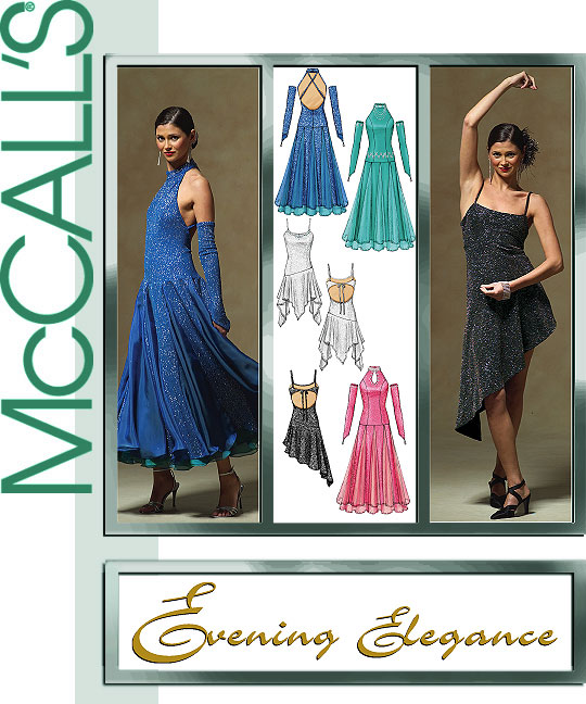 McCall's Evening Elegance ballgowns 5136
