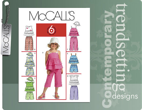 McCall's Child's Sleeveless Top 5306