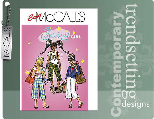 McCall's sassy girl 5312