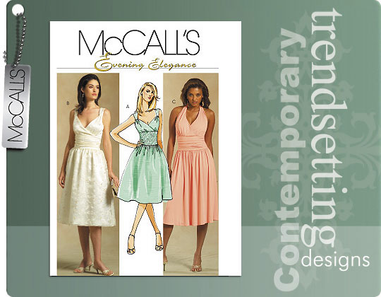 McCall's Evening Elegance Dress 5319