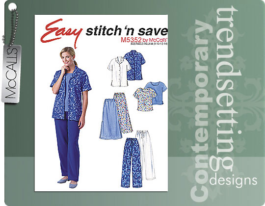 McCall's Easy Stitch 'n Save by McCalls 5352