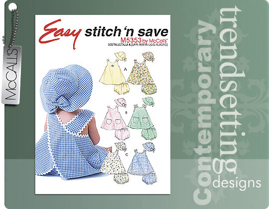 McCall's Infants dress 5353