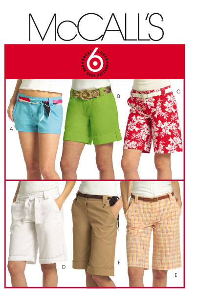 McCall's Misses Shorts 5391