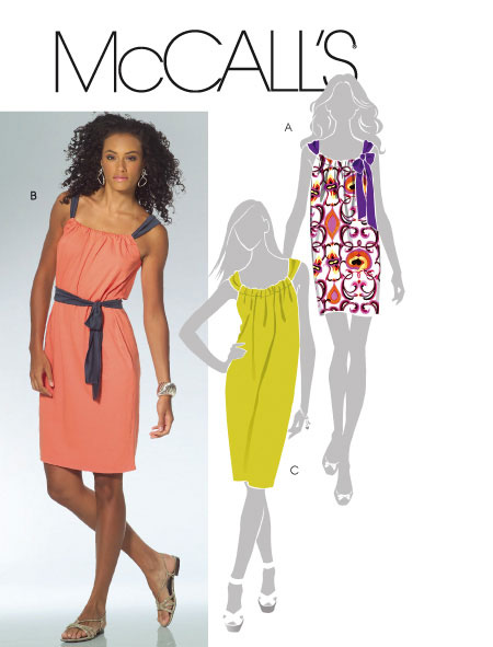McCall's Miss Petite Dresses and Belt 5425