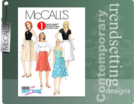 McCall's Misses Wrap Skirt 5430