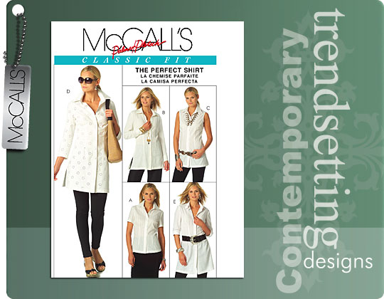 McCall's shirts 5433
