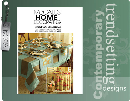 McCall's tabletop essentials 5439
