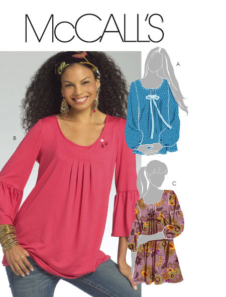 McCall's tunic with pleats 5469