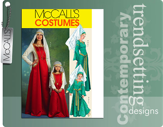 McCall's Medieval Costumes 5499