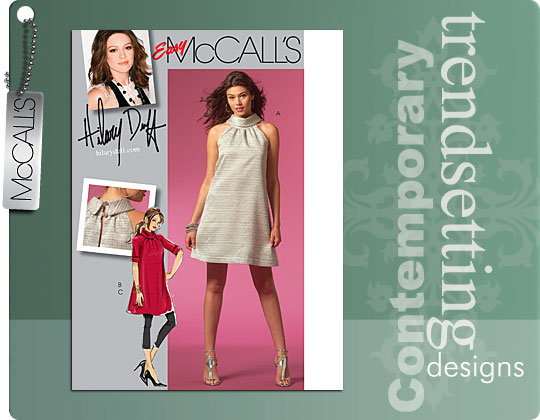 McCall's Lined dress and legging 5512