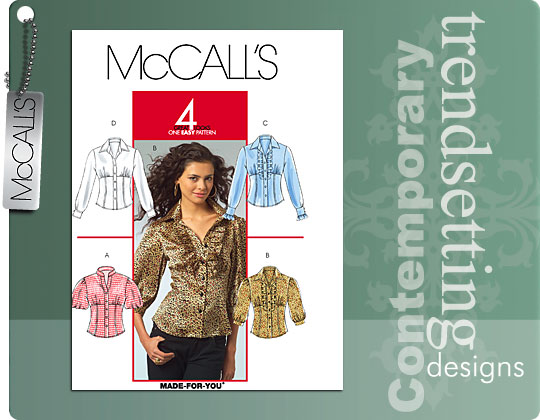 McCall's Misses shirts 5522