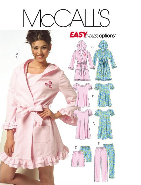 McCall's Easy Endless Options 5534