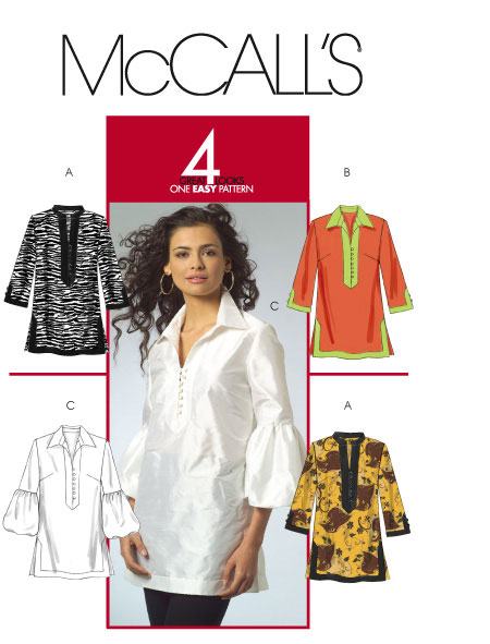 McCall's 4 Great Looks, 1 Easy Pattern 5556