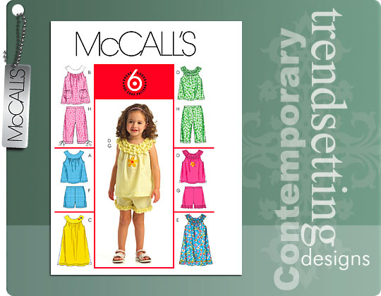 McCall's 6 Great Looks One Easy Pattern 5568