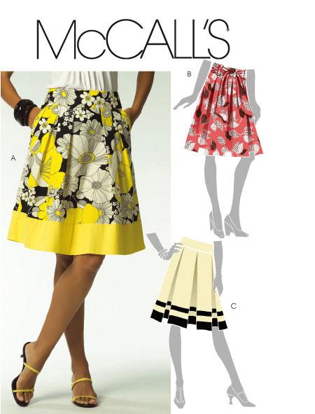 McCall's Misses Skirts & Sash 5591