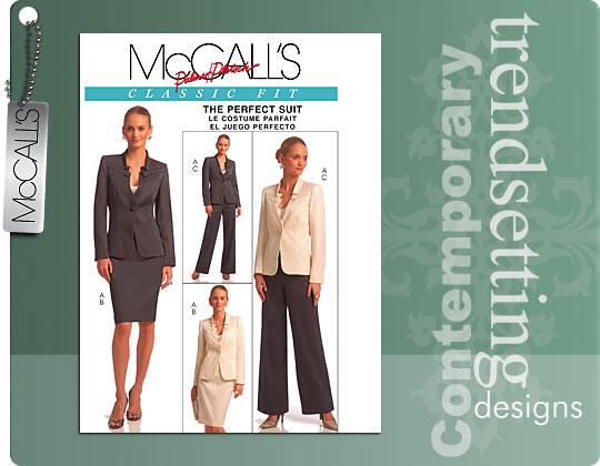 McCall's McCalls, Palmer & Pletsch Suit 5597