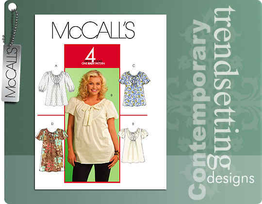 McCall's Misses' tops and dress 5629