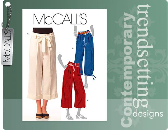 McCall's Misses pants and belt 5632