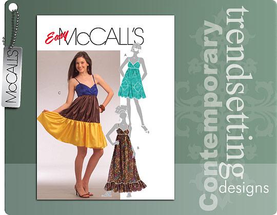 McCall's Misses' Dress 5652