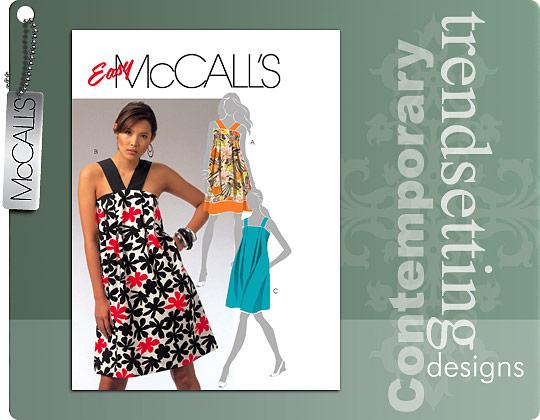 McCall's Easy McCall's Dress 5654