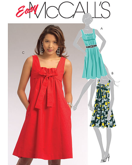 McCall's Easy McCall's Dresses 5655