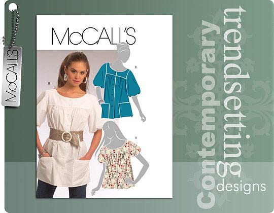 McCall's Yoked Tops 5665