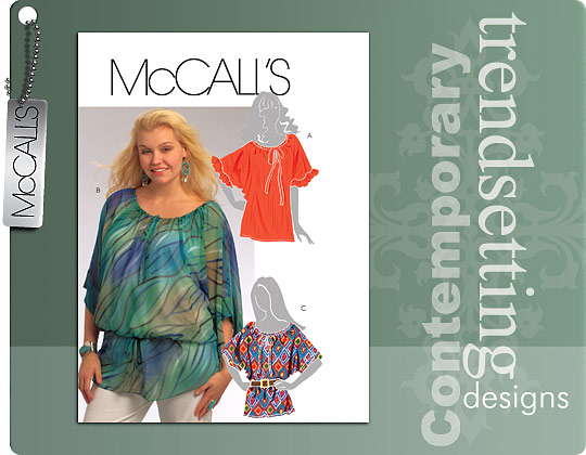 McCall's SO HOT…SEW NOW TUNICS 5666