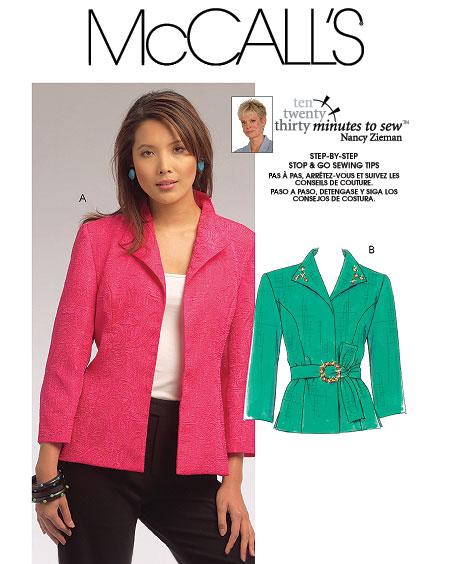 McCall's Jacket 5668