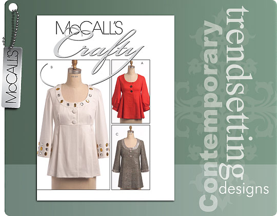 McCall's Trendy jacket w/empire bodice 5670