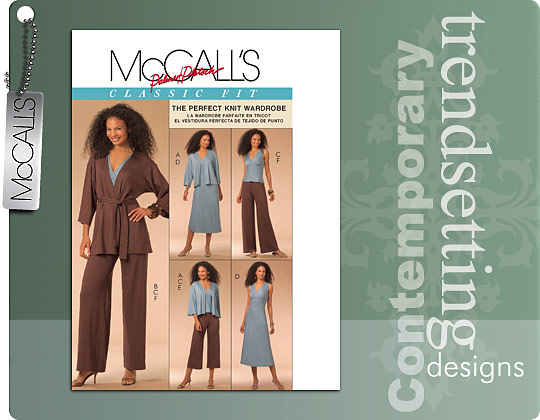 McCall's The Perfect Knit Wardrobe 5671