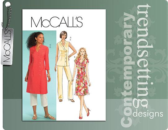 McCall's tunic & pants; dress 5672