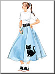 McCalls 5681 Pattern ( Size 8-10-12-14-16 )