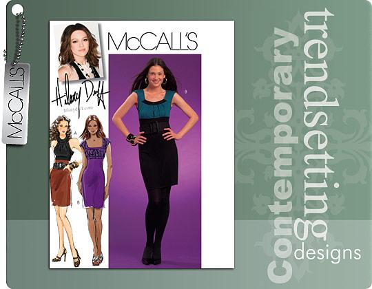 McCall's Hillary Duff Dresses 5700