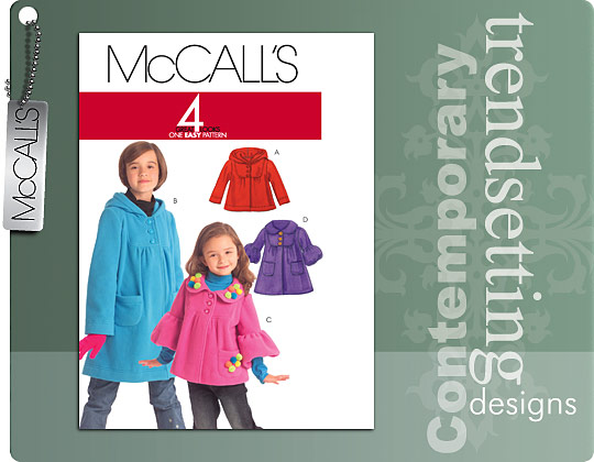 McCall's Jackets and Coats 5743